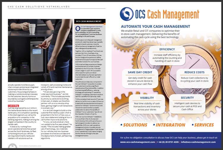 G4S Cash Solutions Netherlands - Automate your cash management